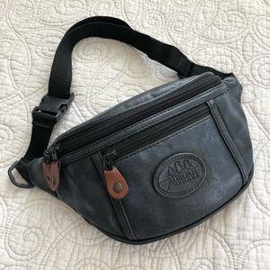 Auburn Woods Vintage 90's Vegan Leather Fanny Pack